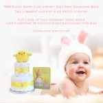 Win! An Easter Nappy Cake & My Very First Springtime Book