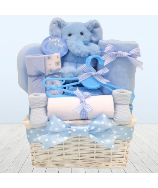It's A Boy Newborn Baby Boy Gift Hamper⼁Basket New Baby Boy Gifts