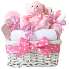 Angel Baby Girl Gift Basket / Baby Girl Hampers / Newborn Baby Girl Gifts