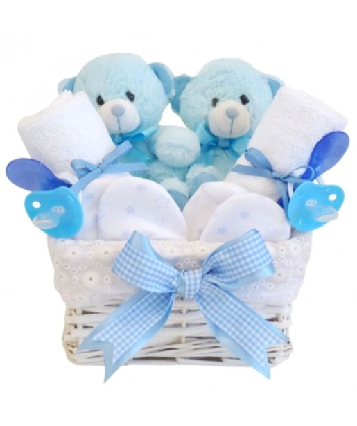 Angel Twin Boy Baby Hamper / Gift for Twin Boys / Twin Baby Boys Gift