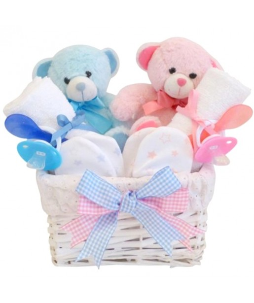 Angel Twin Boy & Girl Baby Hamper /  Twin Gifts / Gifts for Twin Babies