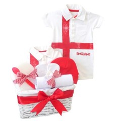 England Football Kit Baby Gift Set / Baby Boy Gift Hamper / Boys Baby Hamper / New Baby Boys Gifts