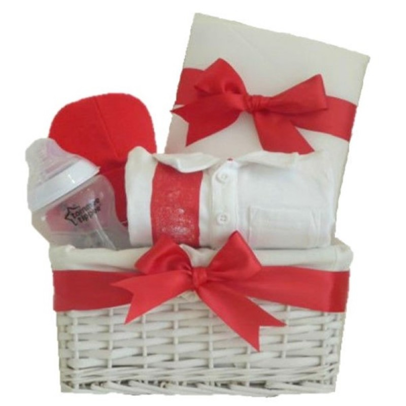 Baby Gift Kit : My first football kit baby gift set boy hamper