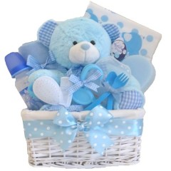 Belle Baby Boys Gift Hamper / Baby Boys Gift Basket / Baby Boys Gifts