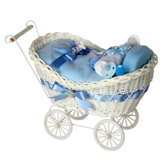 Cherish Blue Baby Boy Gift Hamper / Baby Hamper / Baby Shower Gifts / New Baby Gift / New Baby Gifts