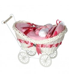 Cherish Luxury Pink Baby Girl Gift Hamper / Baby Hamper / Baby Shower Gifts / New Baby Gift / New Baby Gifts