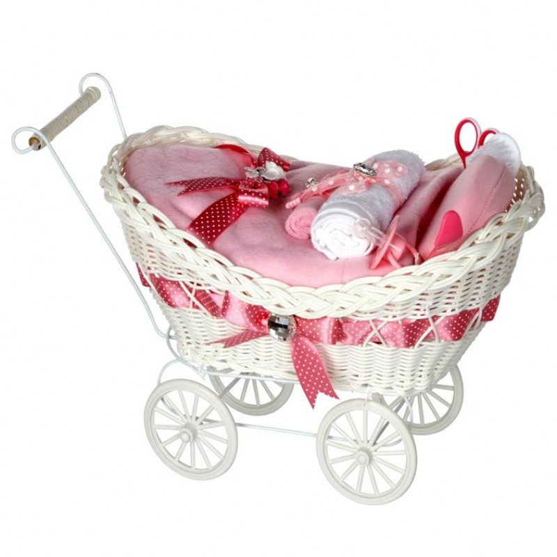 Baby Gift Hamper Uk : Cherish luxury pink baby girl gift hamper