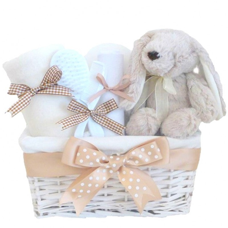 Flopsy bunny neutral baby hamper easter gifts for babies flopsy bunny neutral baby hamper easter gifts for babies unisex baby shower gift negle Image collections