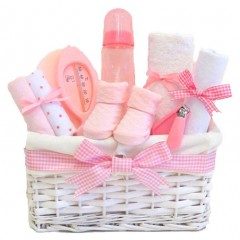 Lola Baby Girl Gift Hamper / Baby Hamper / Maternity Gift Basket / Baby Shower Gifts / New Baby Girl Gifts