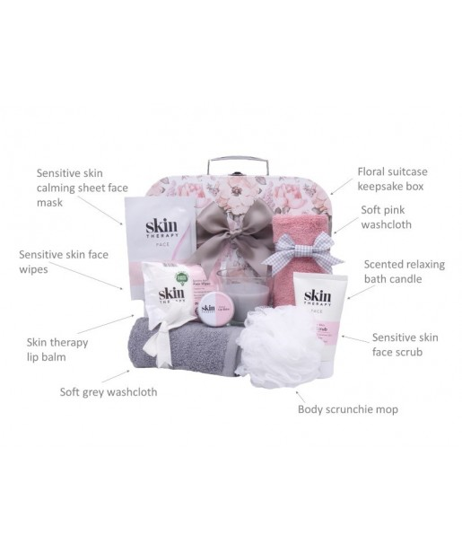 Mum To Be Pamper Hamper Gift Set⼁Mothers Day Vintage Floral Pamper Hamper