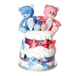 Twin Nappy Cakes - Double Trouble