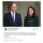 Prince William and Kate Middleton, Expecting Third Child